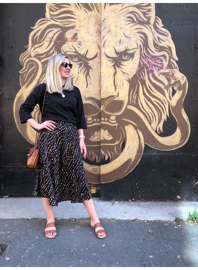 Jaba Iva Culottes in FallSpots