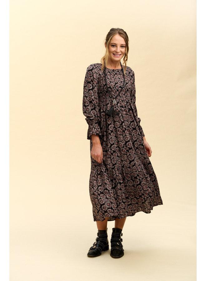 Jaba Milla Dress in FallFlower