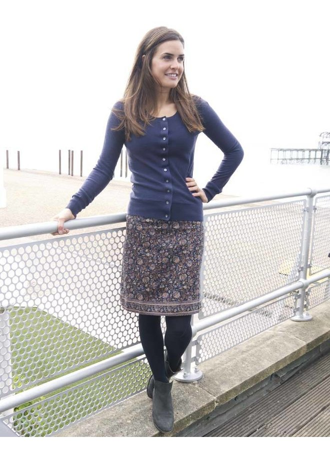 Jaba Lora Skirt - Indian Blue