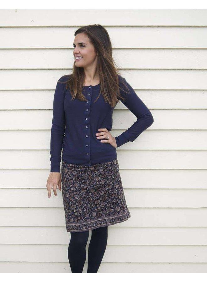 Jaba Lora Skirt - Indian Blue