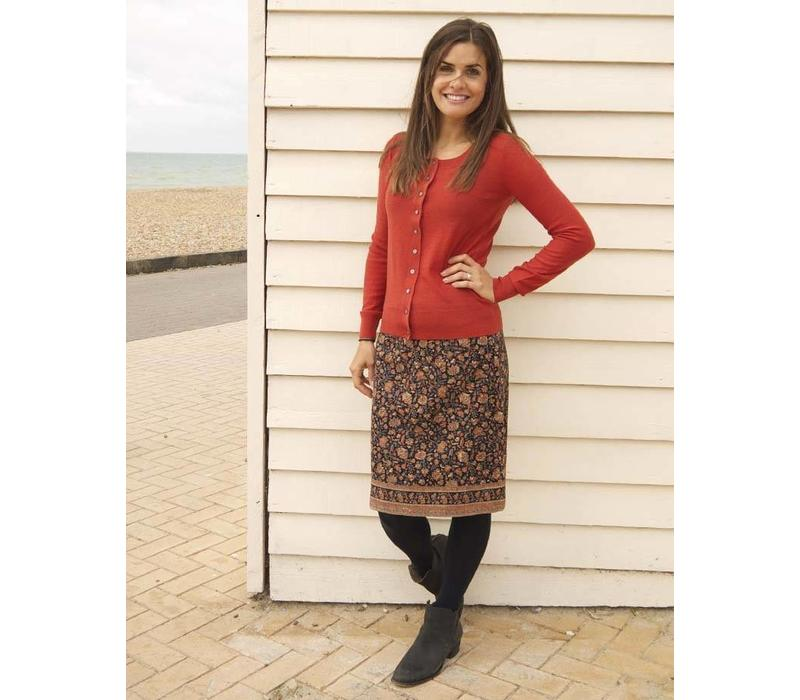 JABA Lora Skirt - Indian Orange