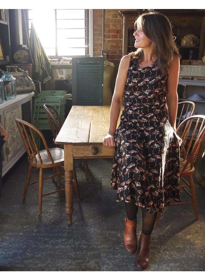 Jaba Florence Skirt in Dandelion Print