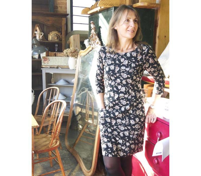 Jaba Sadie Dress in Cornflower