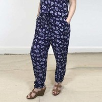 Jaba Ellie Trousers in Cornflower