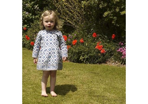 JABA JabaKids Rosie Dress in Tile Print