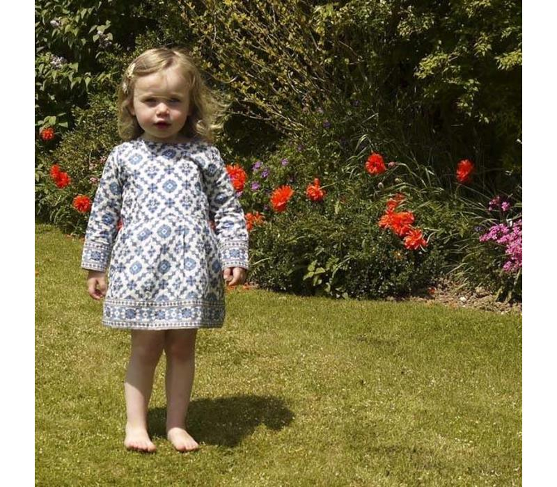 JabaKids Rosie Dress in Tile Print