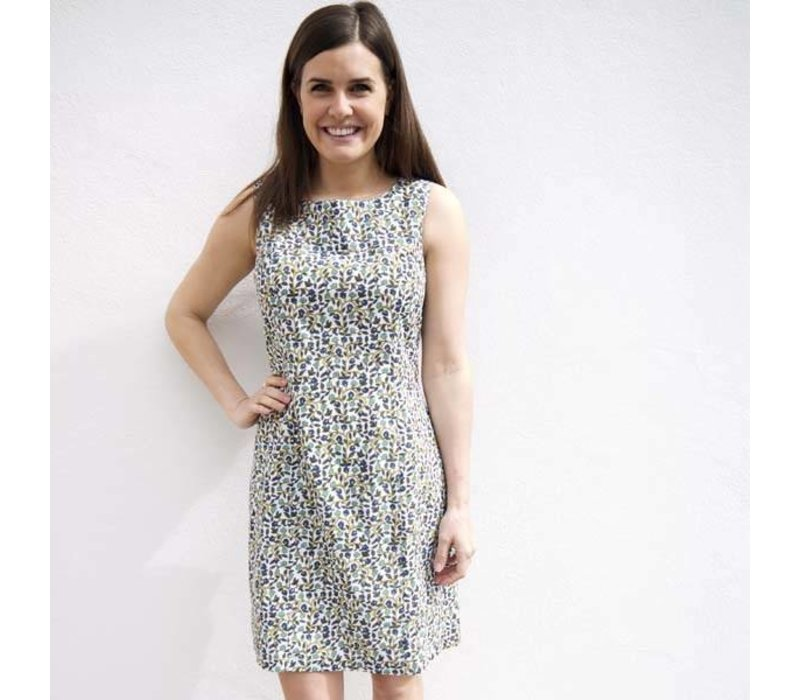 Jaba Nicole Dress in Buti Print