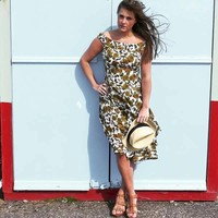 Jaba Lydia Dress in Camo Rose