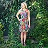 JABA JABA Nicole Dress in Chelsea Dark
