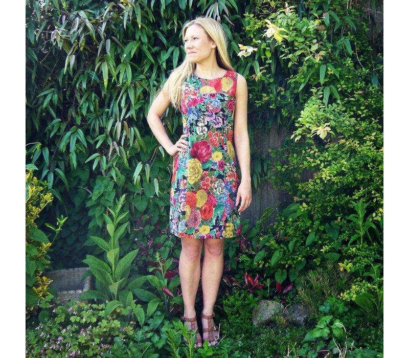 JABA Nicole Dress in Chelsea Dark