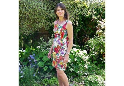 JABA JABA Nicole Dress in Chelsea Light