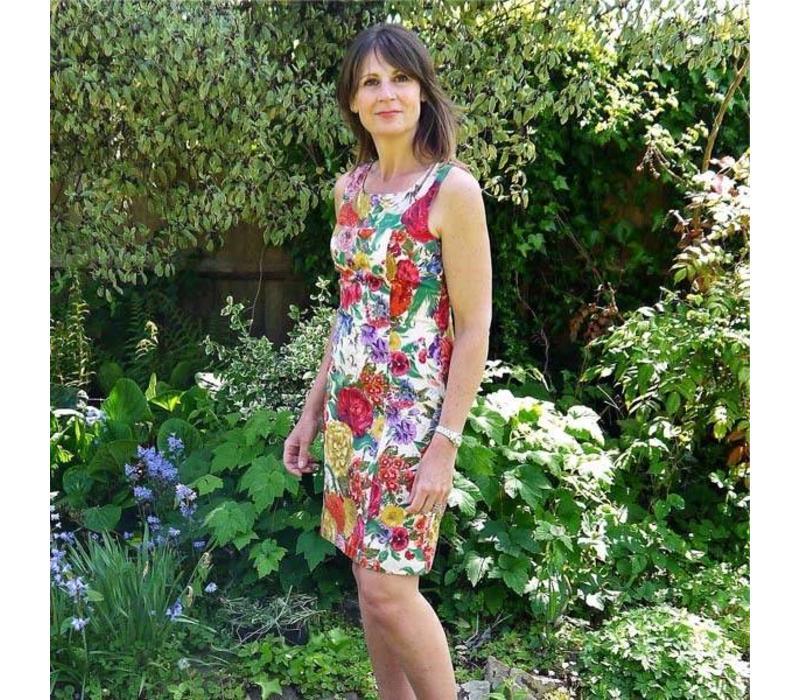 Jaba Nicole Dress in Chelsea Light
