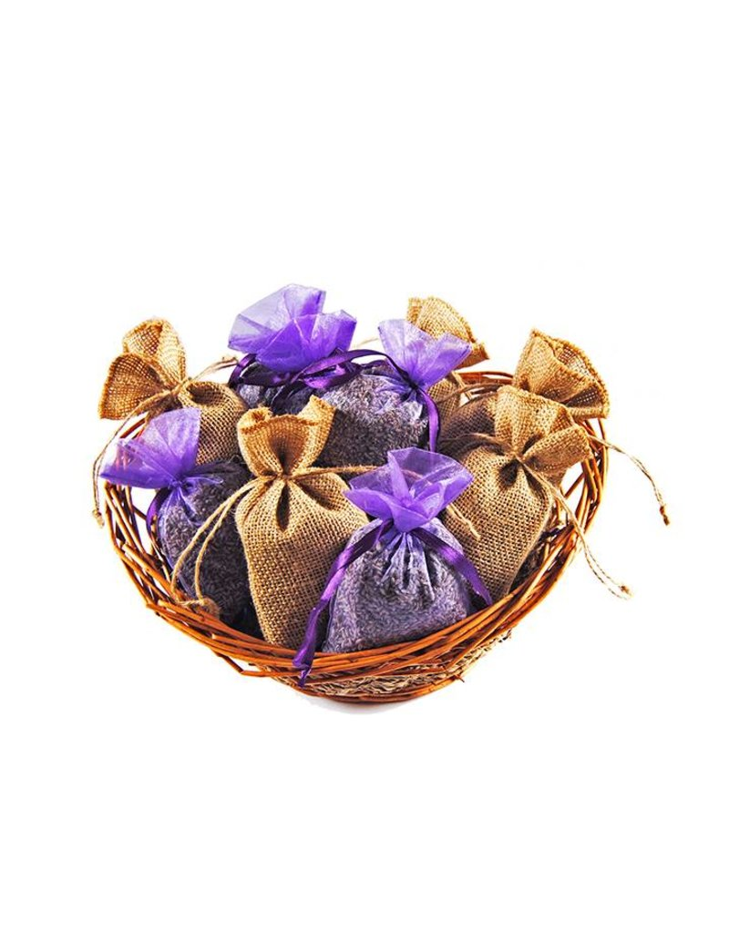 Beaux Yeux Geurzakje Lavendel 20g - jute (1 stuk)