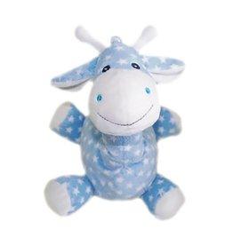 Pelucho Lavendel warmteknuffel koe