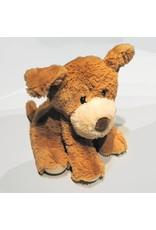 Pelucho Lavendel warmteknuffel hond lichtbruin