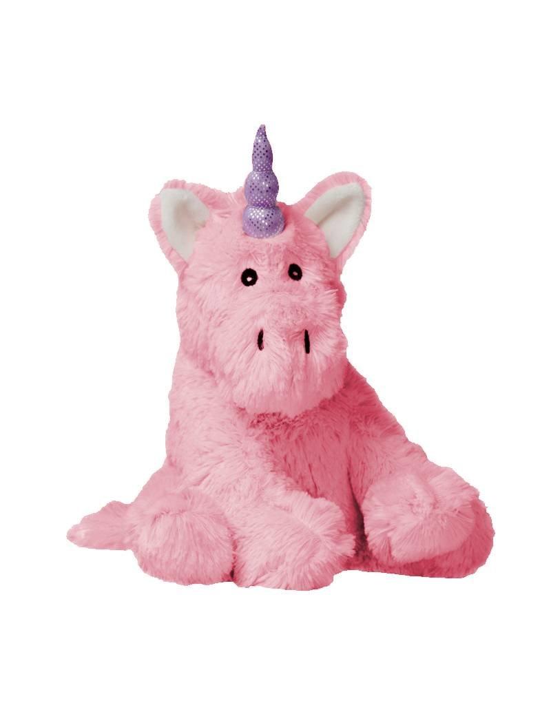Pelucho Lavendel warmteknuffel roze eenhoorn