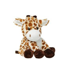 Pelucho Lavendel warmteknuffel giraf