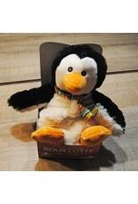 Pelucho Lavendel warmteknuffel pinguin
