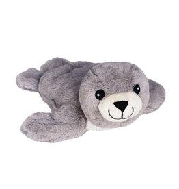 Pelucho Lavendel warmteknuffel zeehond grijs