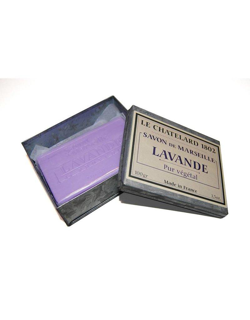 Le Chatelard 1802 Zeep Lavendel in blik 100g