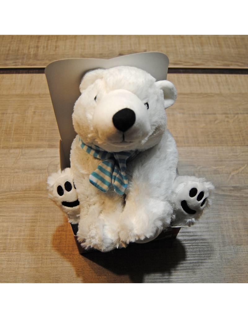 Pelucho Lavendel warmteknuffel ijsbeer