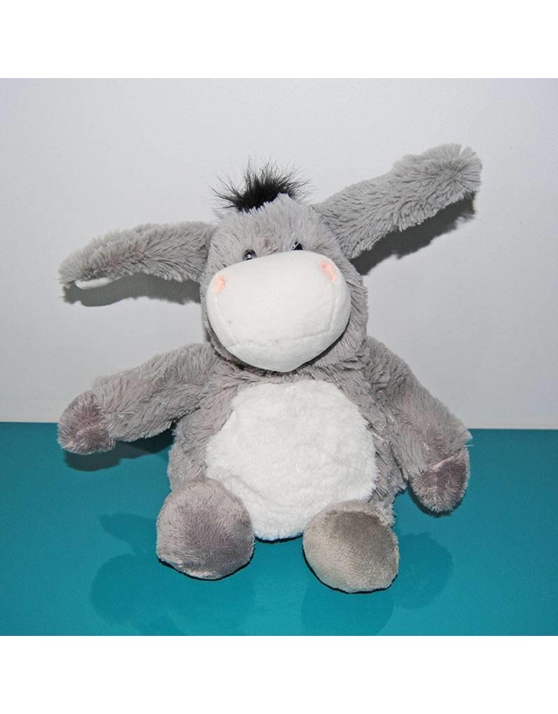 Pelucho Lavendel warmteknuffel ezel
