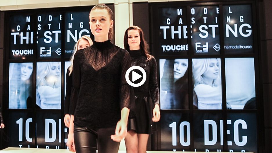 BACKSTAGE VIDEO CASTINGDAG TOUCHÉ MODELS X THE STING