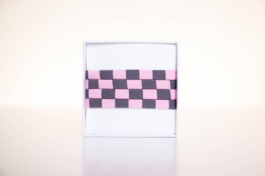 Rose-grey striped