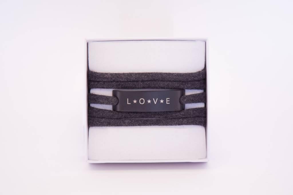 LOVE - schwarz