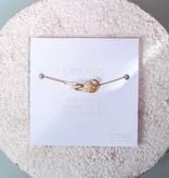 "FRIENDS ""ANGEL"" bracelet golden"
