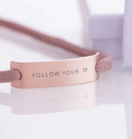 "DIAMOND EDITION : ""FOLLOW YOUR HEART"" ROSEGOLD"