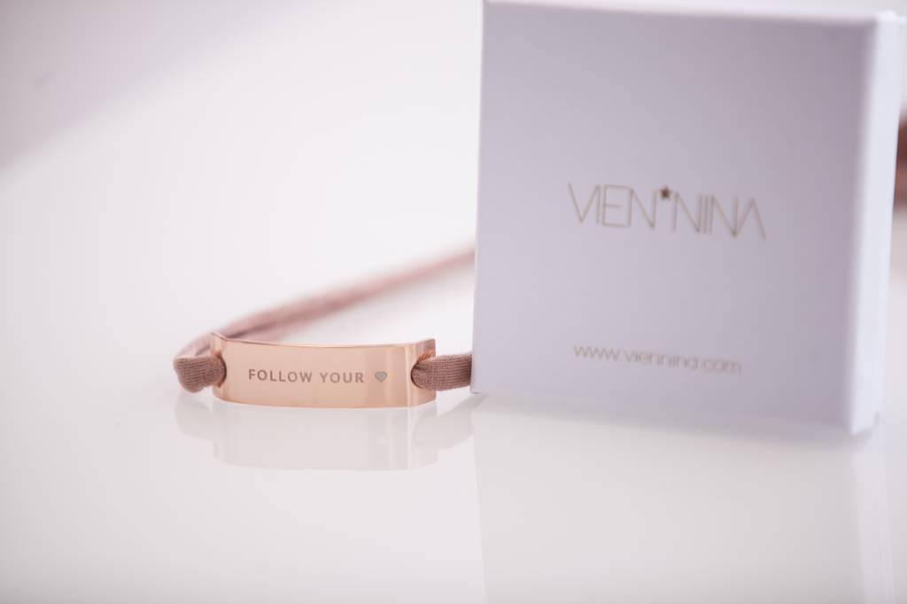 "GLOSSY ROSEGOLDEN: ""FOLLOW YOUR HEART"""