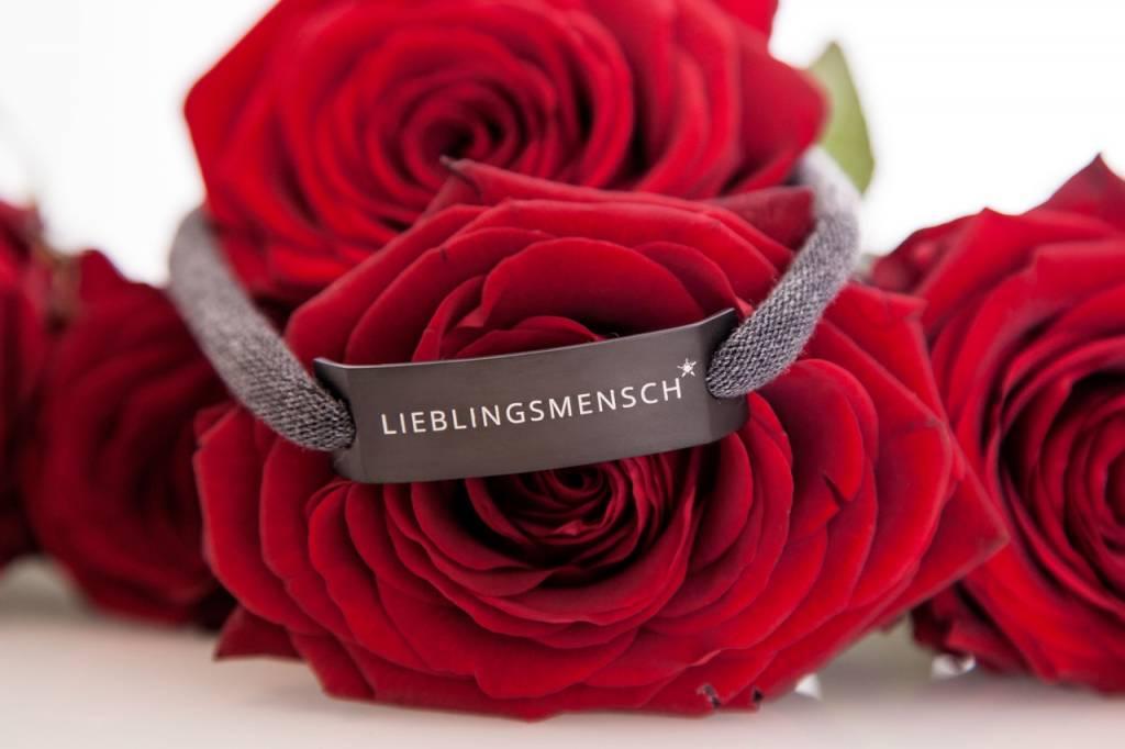 "DIAMOND EDITION : ""LIEBLINGSMENSCH"" SCHWARZ"
