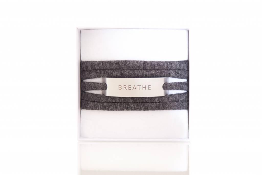 BREATHE - silber