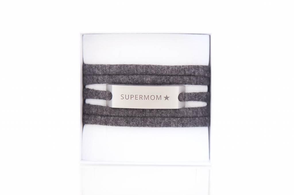 SUPERMOM - silber