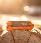 STAY STRONG - schwarz