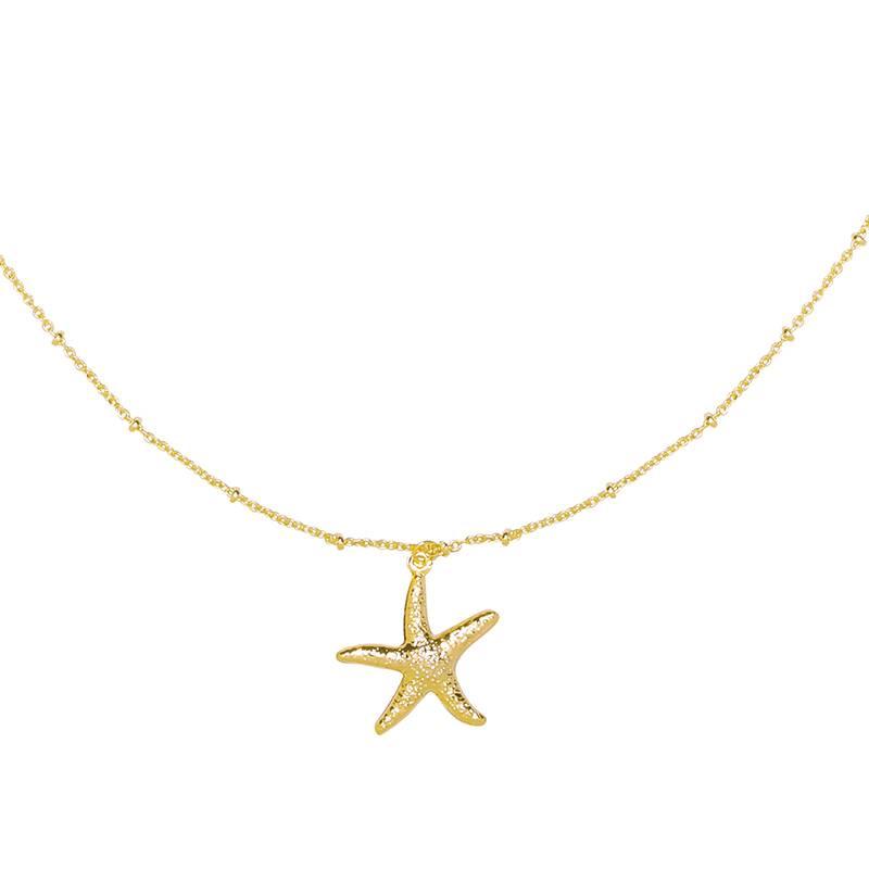 SEESTERN - Halskette gold