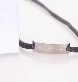 "GLOSSY SILVER: ""FOLLOW YOUR HEART"""