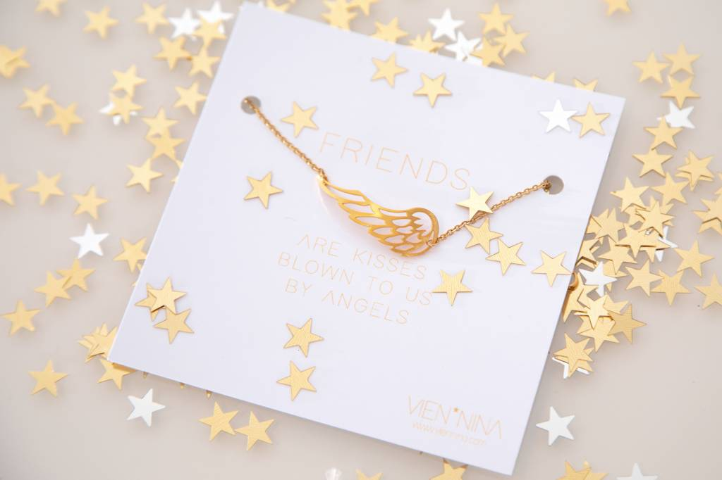 "FRIENDS ""ANGEL"" Armkettchen gold"