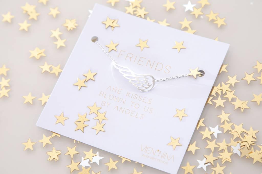 """FRIENDS """"ANGEL"""" Armkettchen silber"""