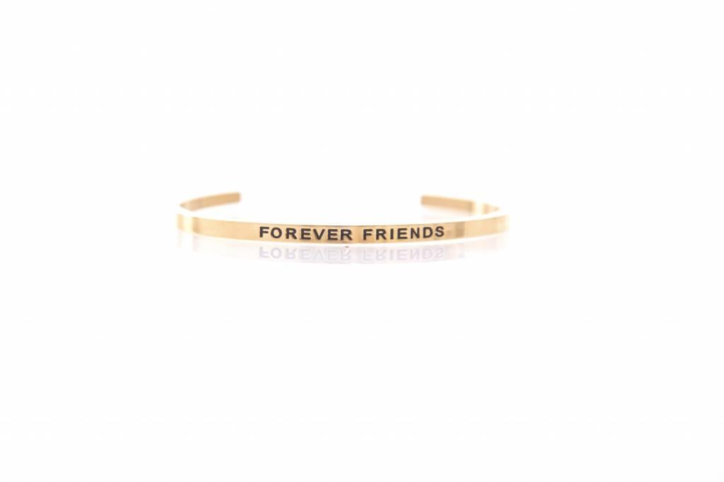 """""""FOREVER FRIENDS"""" ArmreifenGOLD"""