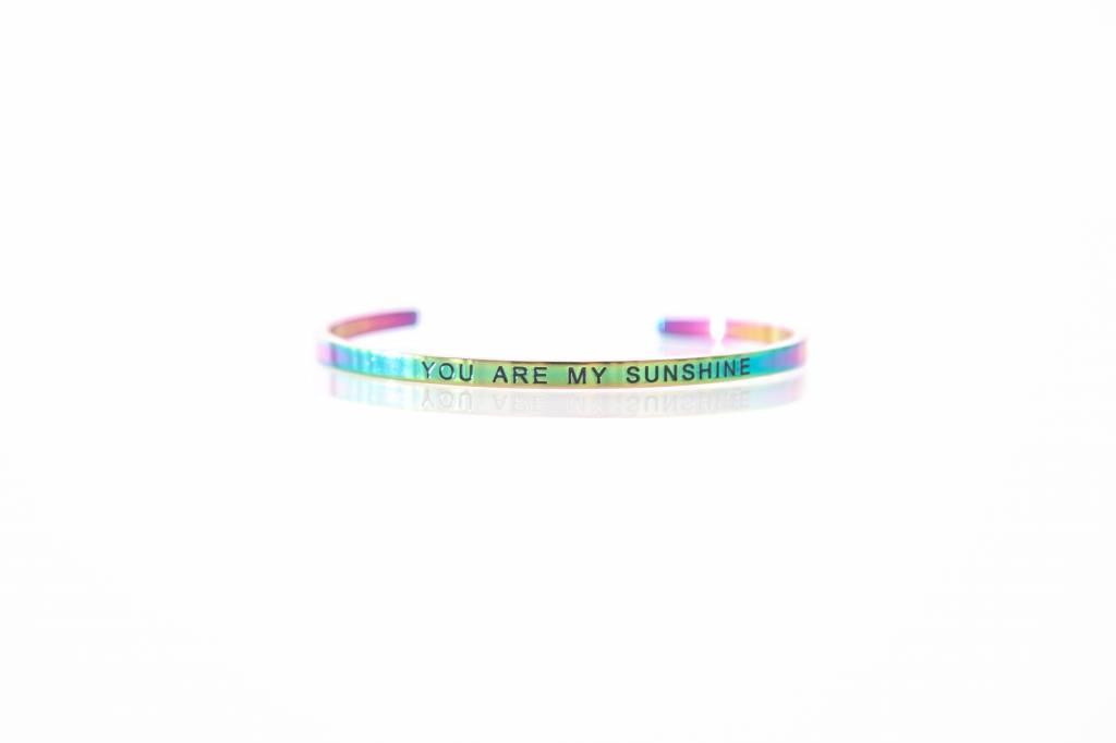 """YOU ARE MY SUNSHINE"" - Bangle RAINBOW"