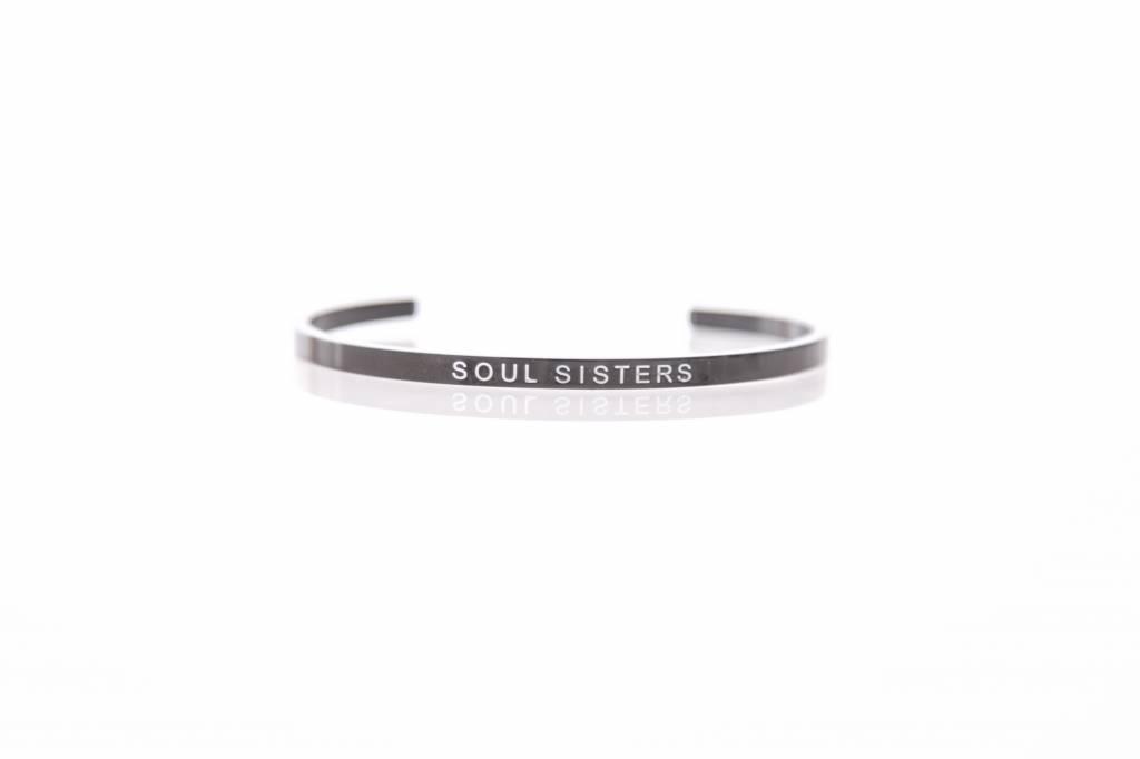 """SOUL SISTERS"" Bangle BLACK"