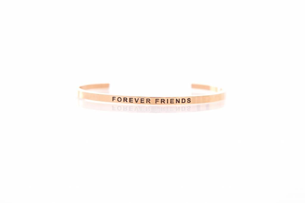 """""""FOREVER FRIENDS"""" - Armreifen ROSEGOLD"""