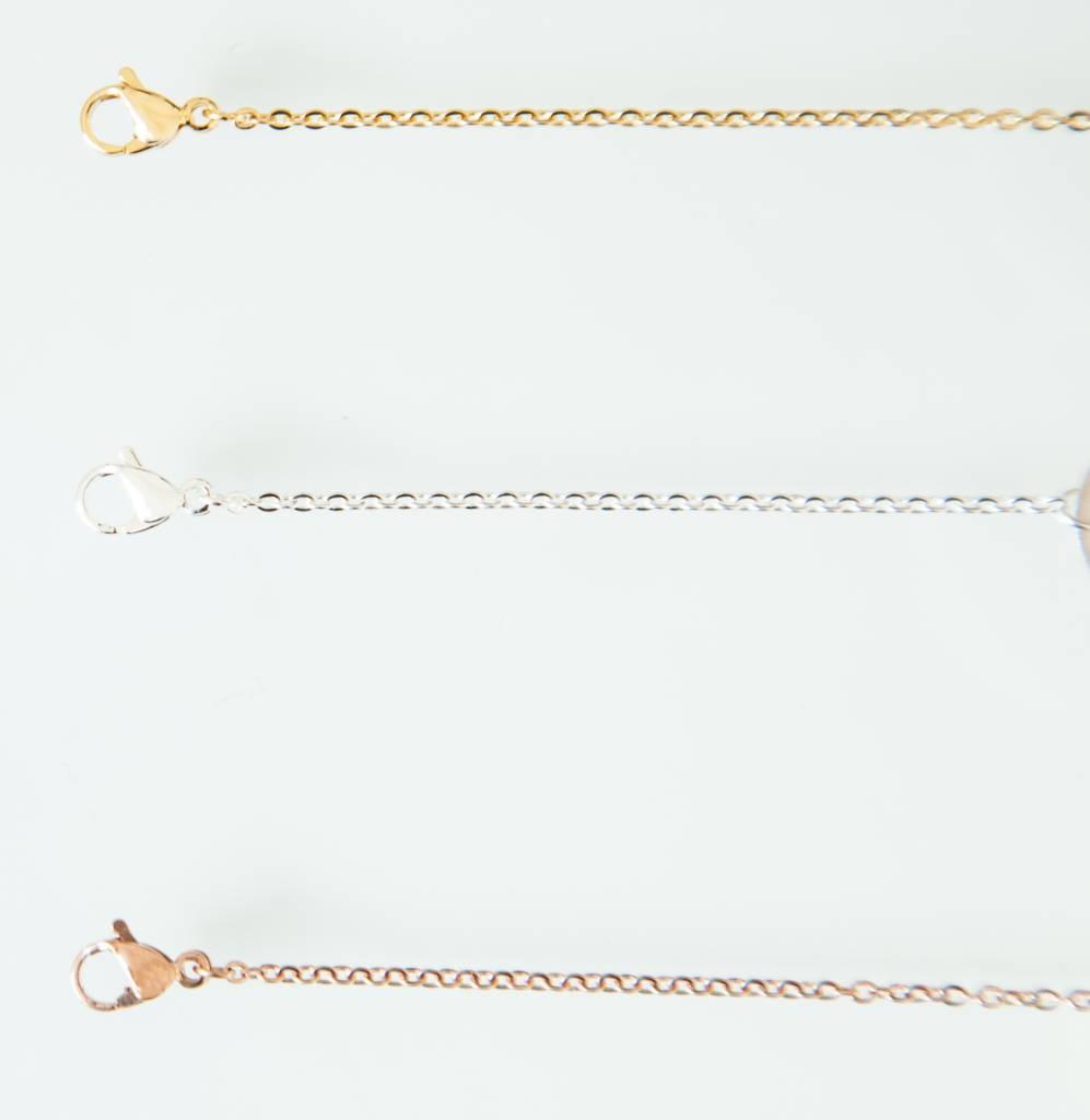 SNOWFLAKE bracelet golden
