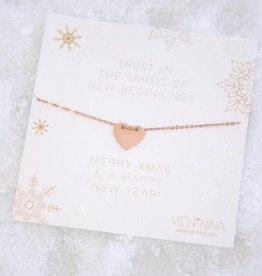 SWEETHEART bracelet rosegolden