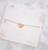 SWEETHEART bracelet golden