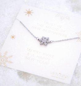SNOWFLAKE bracelet SILVER