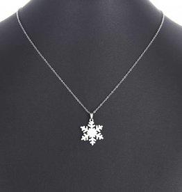 SNOWFLAKE - Halskette silber
