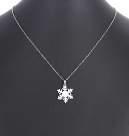SNOWFLAKE - Necklace - silver